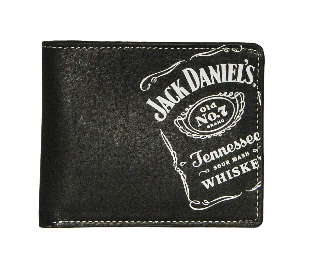 Jack Daniels Black Whiskey Billfold Wallet